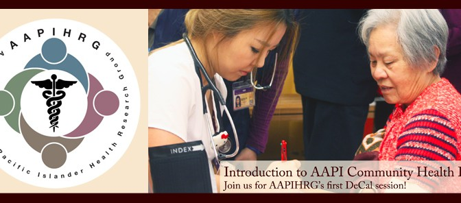 [AAPIHRG-D] Introduction to AAPI Community Health Issues