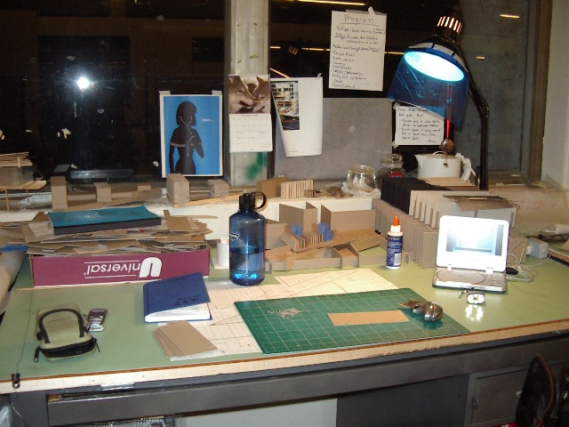 This Is My Desk In Studio