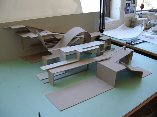 Architecture at berkeley page 3 for Architectural concept models