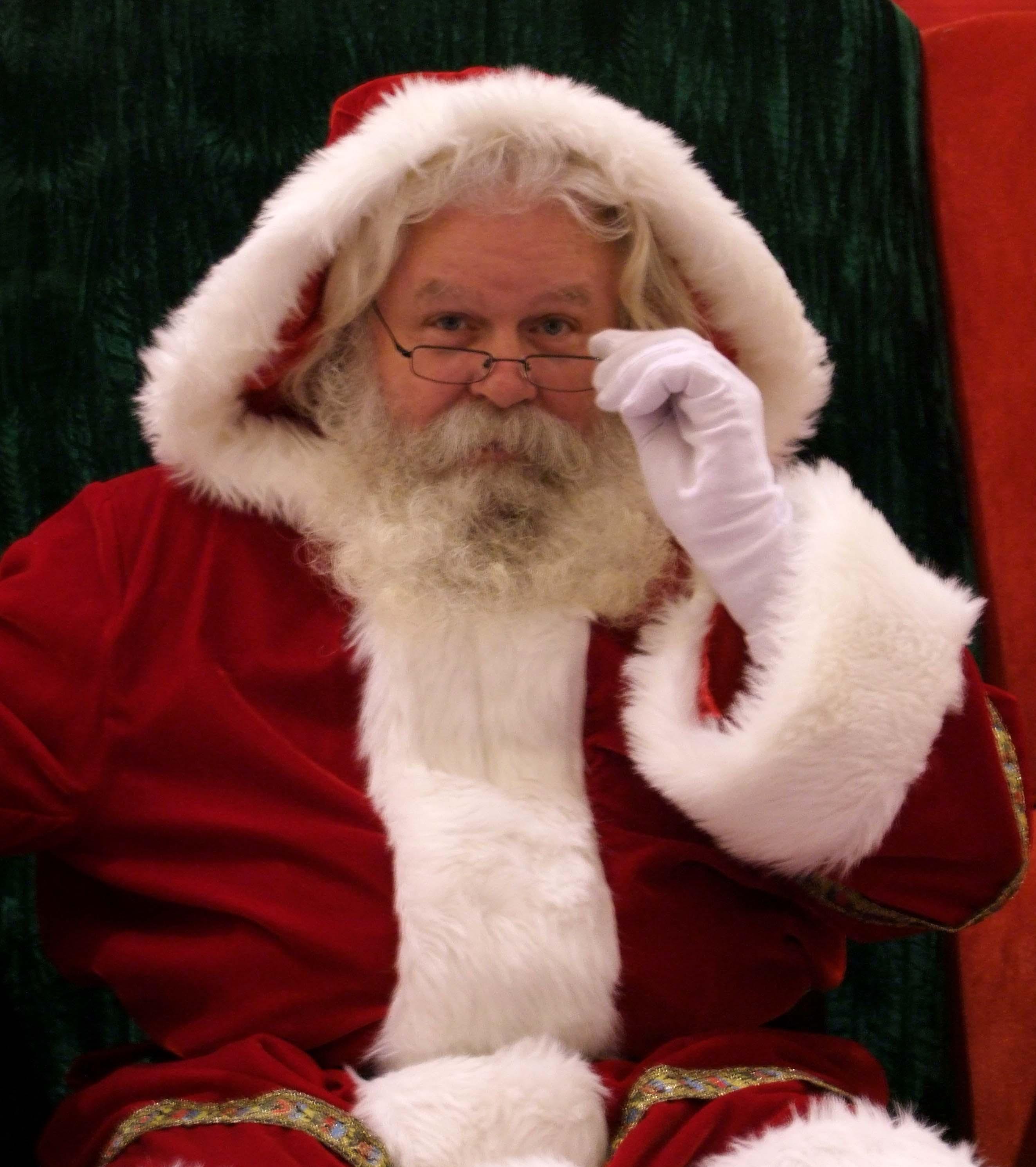 An alleged Stanford Supporter, Santa