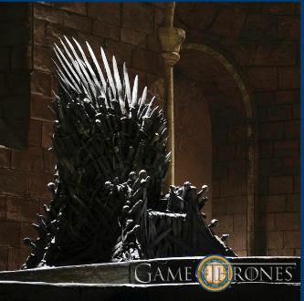 the iron throne for finals week