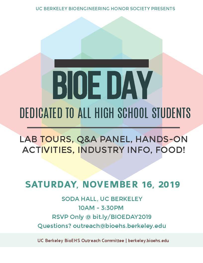 BioE Day Flyer