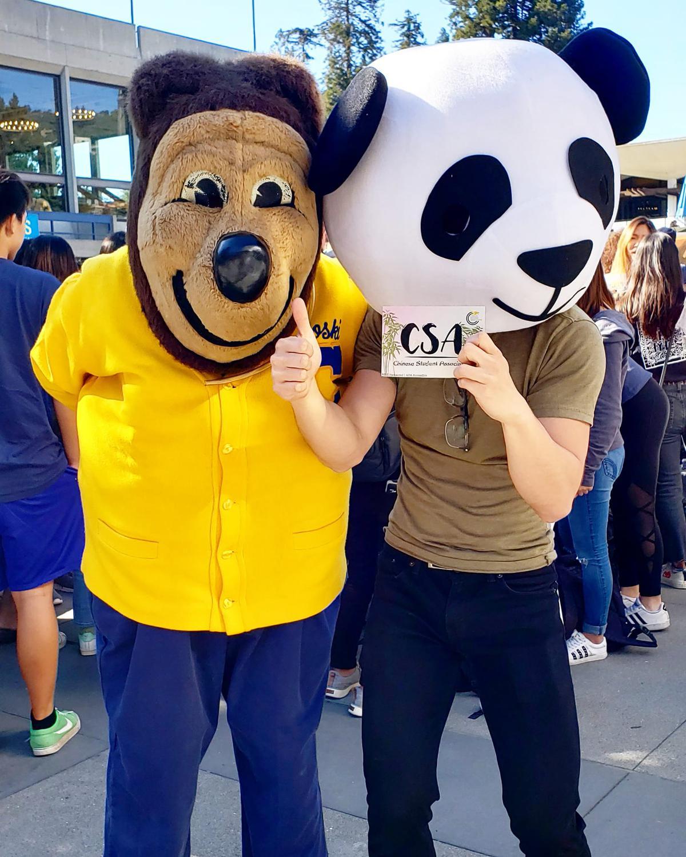 Oski and Panda :3