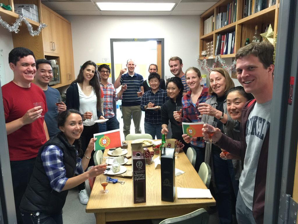 Port tasting in the break room! - 5/9/2016