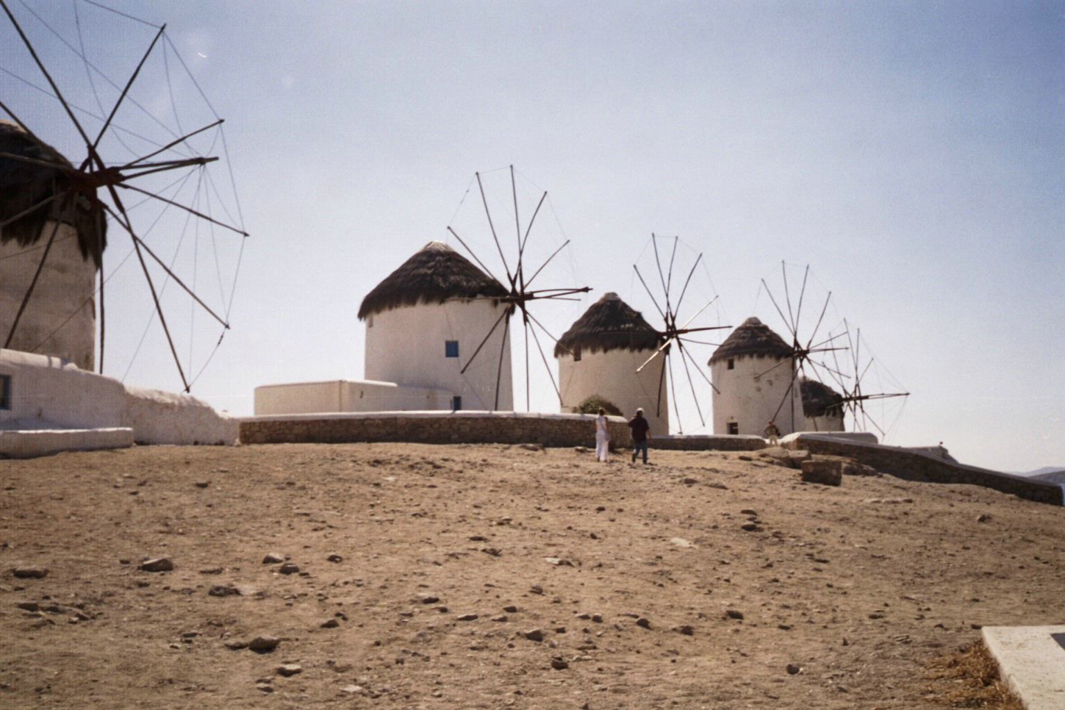 128Mykonos Windmills 2 ... going on inside my head. And, I kind of like it that way.