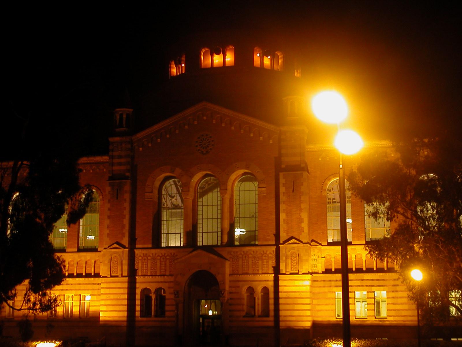 ucla campus at night - photo #1
