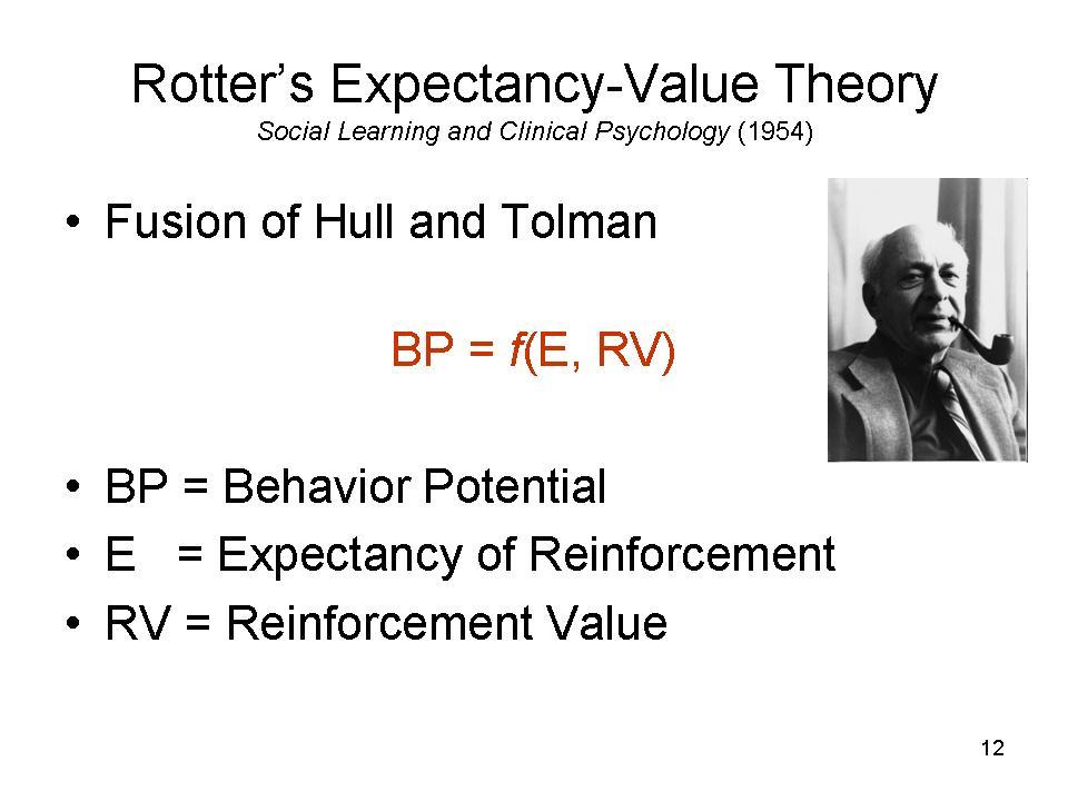 julian rotter walter mischels theories essay