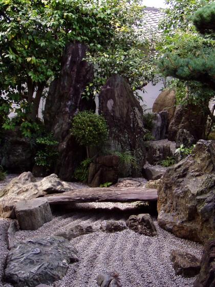 Gardens The Narrow Mostly Stone Garden At Daisenin