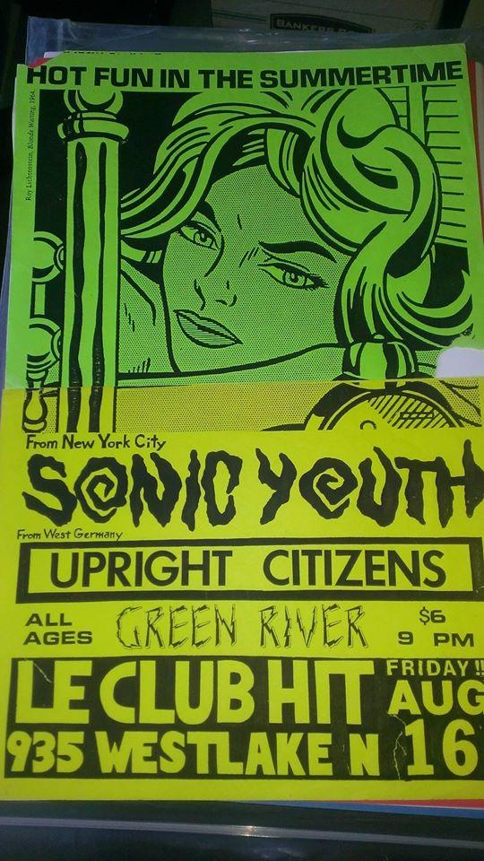 Mudhoney Green River Tourbook