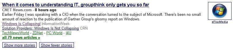 Thank God for Google News