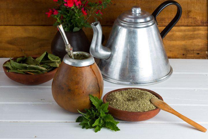 Caffeinated Tea: Mate