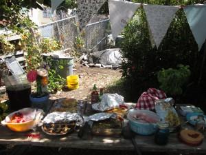 Garden Inspired Potluck