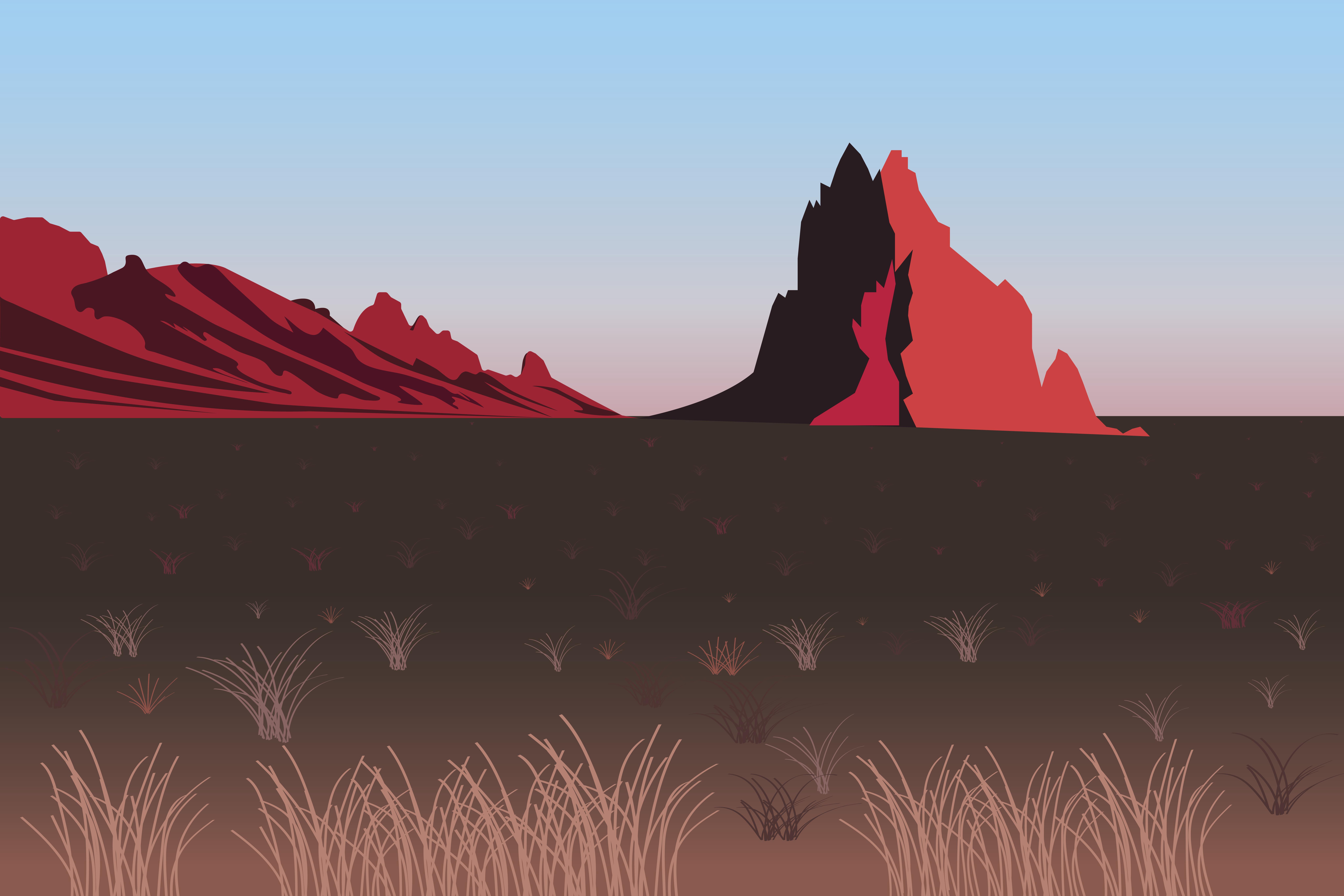 Illustrator landscape