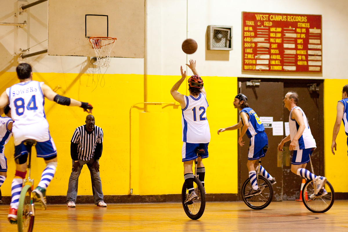 Unicycle Basketball Club at UC Berkeley: Photos
