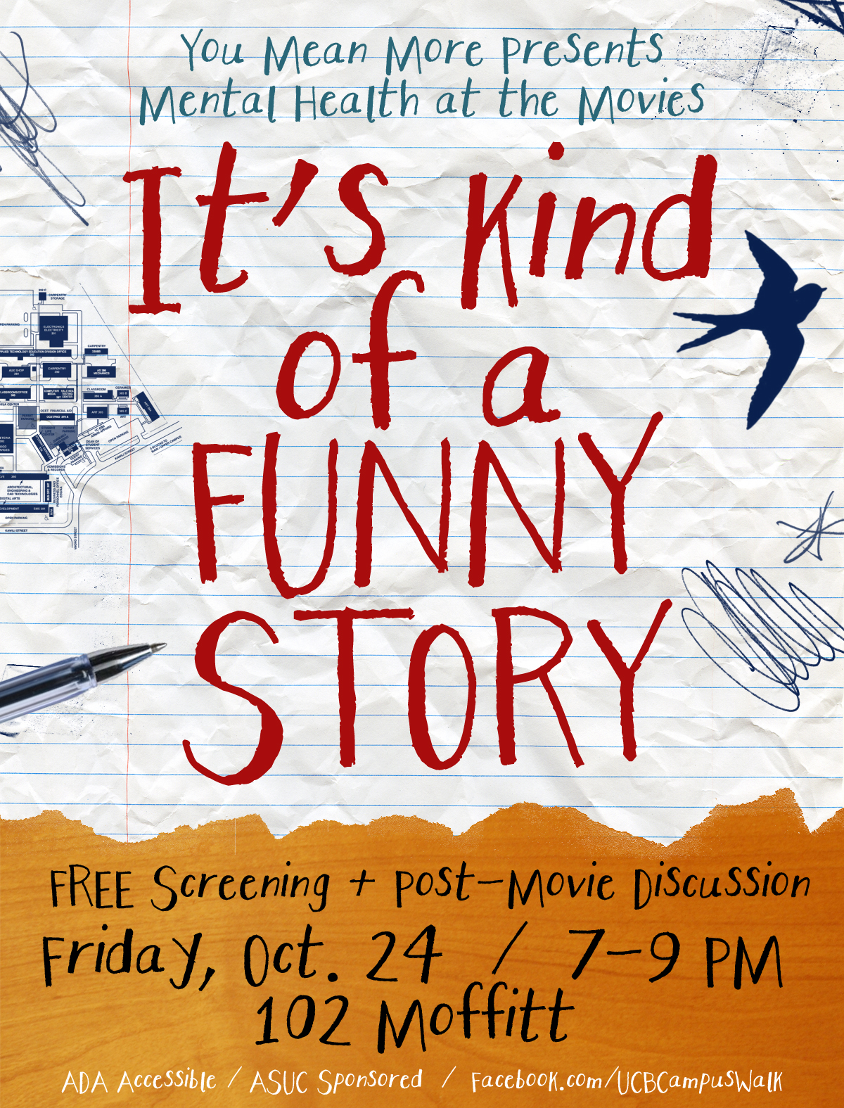 it s kind of a funny story Today at the toronto international film festival i saw the big screen adaptation of it's kind of a funny story, the next movie from half nelson writer.